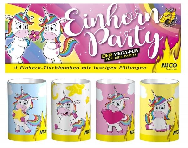 Einhorn Party, 4er-Beutel